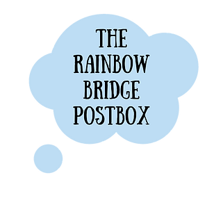 rainbow bridge postbox happypawtraits.pn