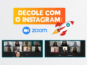 Decole com o Instagram: edição online e ao vivo do curso foi um sucesso!