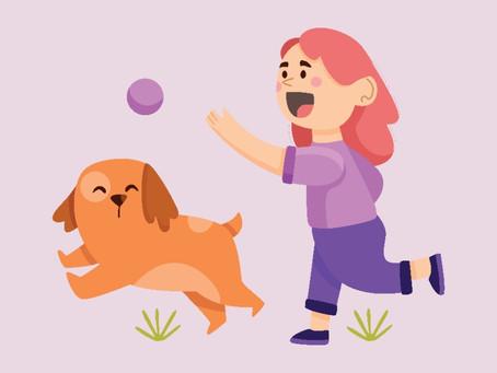 Exercícios para fazer com o pet em casa durante a quarentena