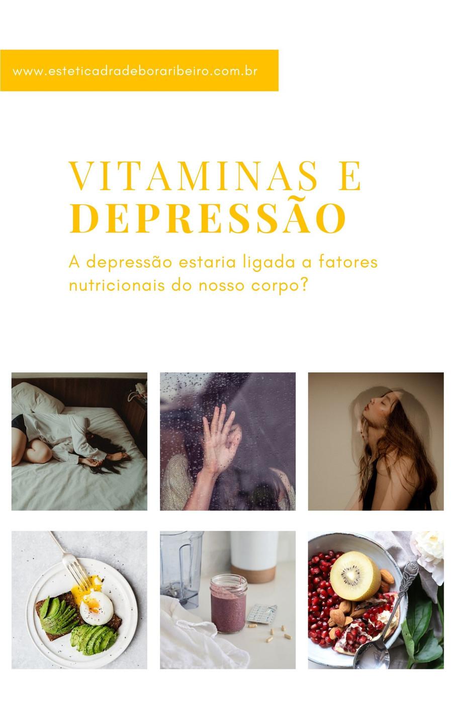 Depressão pode estar ligada com a falta de vitaminas