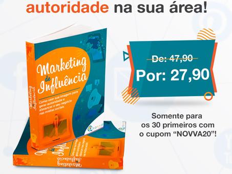 Garanta nosso e-book Marketing de Influência e se torne autoridade na sua área!