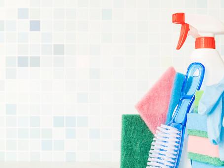 Cuidados com produtos de limpeza e pets