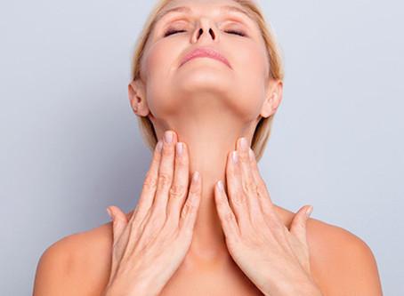 Flacidez no pescoço  como corrigir?