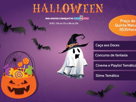 Halloween no Ilumination Park!