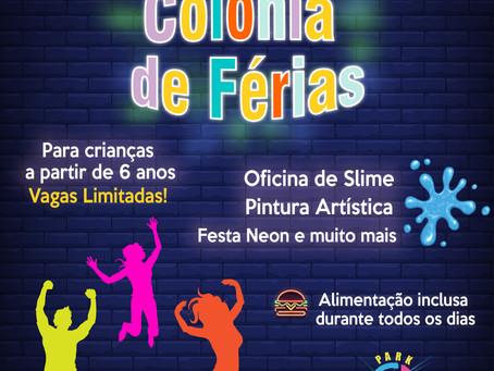 PARTICIPE DA COLÔNIA DE FÉRIAS DO ILUMINATION PARK