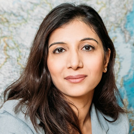 Project Lead Dr Dhara Shah Finalist in India Australia Business and Community Awards