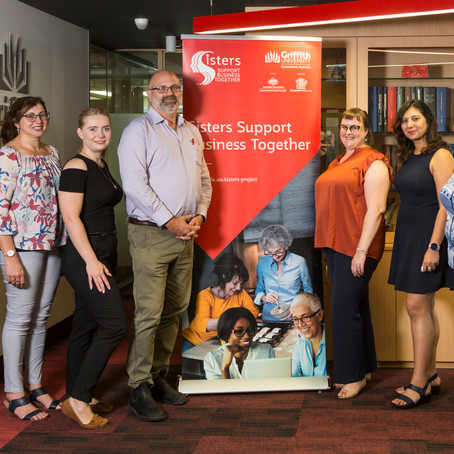 Meet some of our Sisters Project Team and Griffith Internship Students