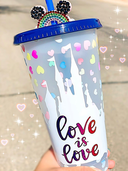 Love is Love Color changing Tumbler