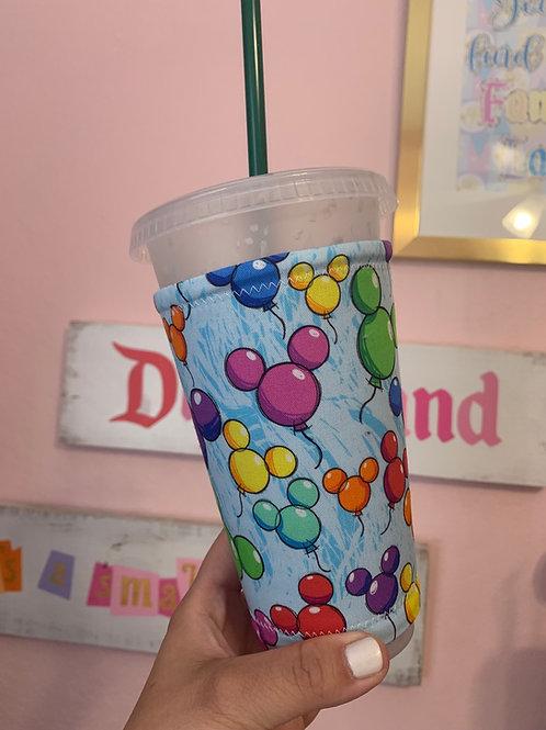 Mickey Balloon Starbucks Cup Sleeve