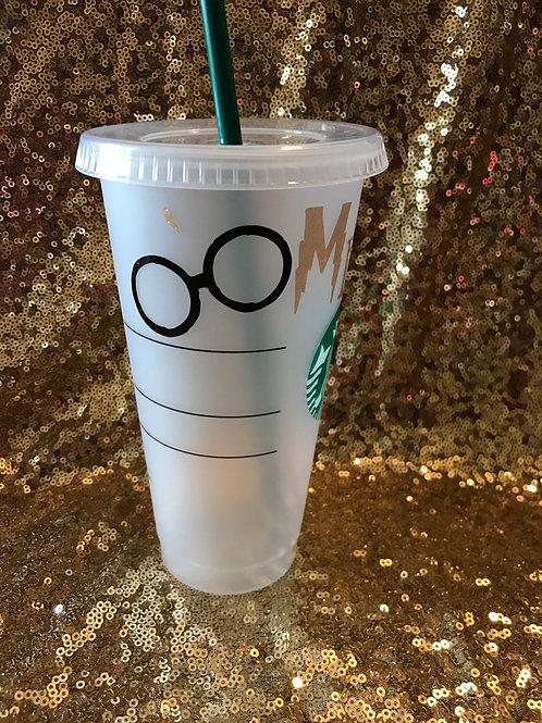 Harry Potter Inspired Starbucks Cold Tumbler