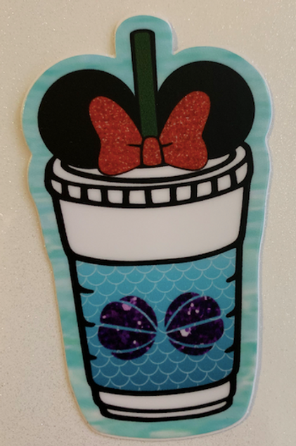 Little Mermaid 30th Anniversary Sticker