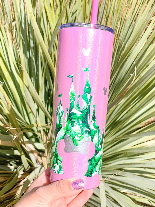 Tropical Stainless Steel Tumbler