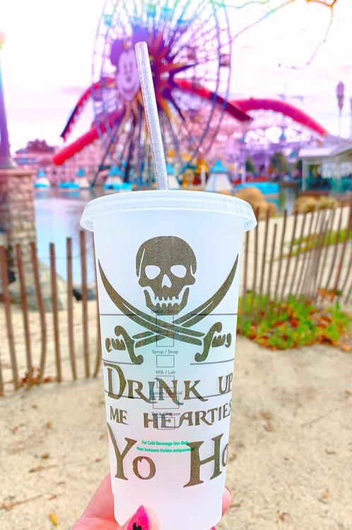 Pirates of the Caribbean Starbucks Tumbler