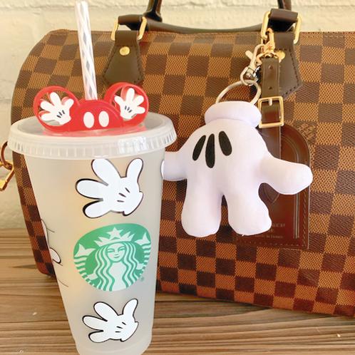 Mickey Glove Starbucks Tumbler