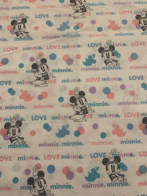 Pastel Minnie Mouse Cup Sleeve