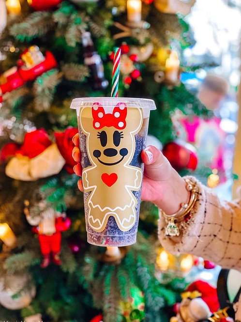 Minnie Gingerbread Starbucks Tumbler