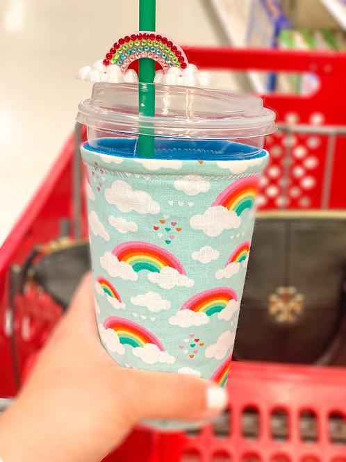 Rainbow Starbucks Cup Sleeve