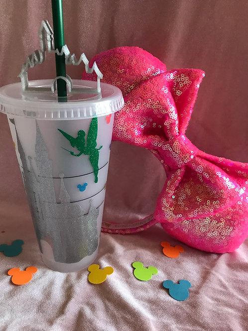 Castle Starbucks Cold Tumbler