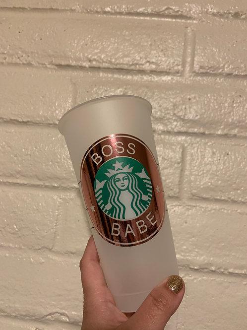 Boss Babe Starbucks tumbler