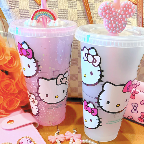 Hello Kitty Starbucks Tumbler