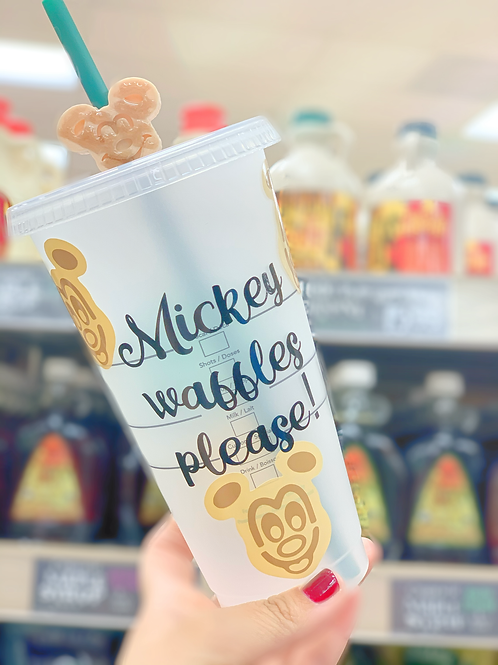 Mickey Waffles Starbucks Tumbler