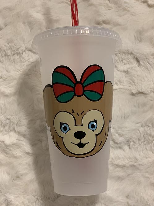 Holiday ShellieMay Starbucks Tumbler
