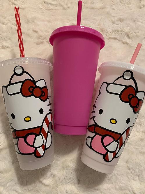 Hello Kitty Starbucks Tumbler