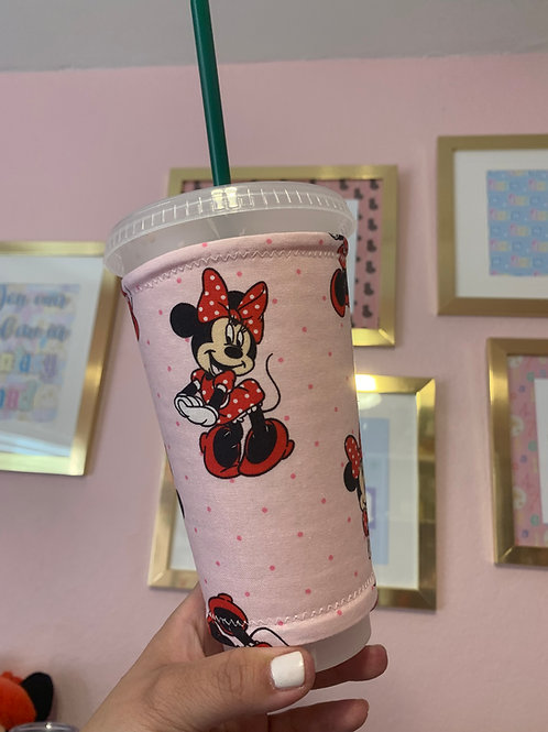 Minnie Mouse Starbucks Cup Sleeve