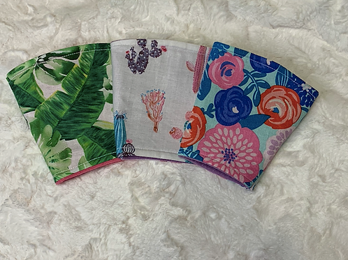 Floral Cup Sleeve