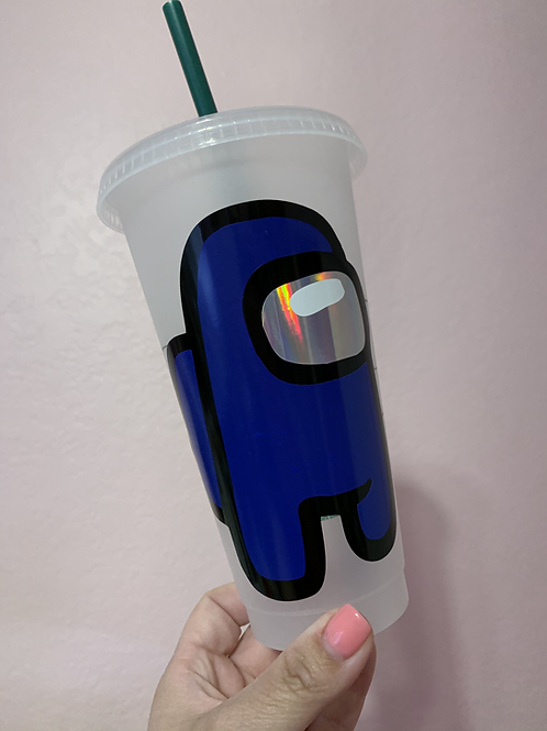 Among Us Starbucks Tumbler