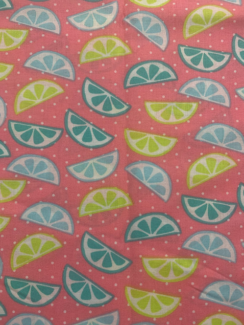 Summer Lemon and Lime Cup Sleeve