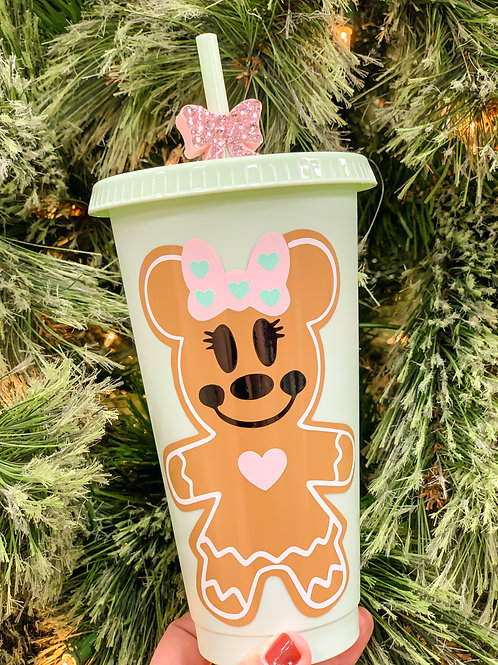 Minnie Gingerbread Tumbler