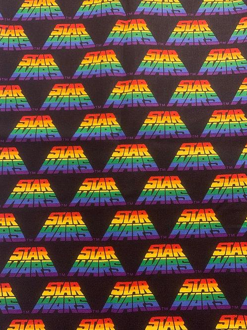 Rainbow Star Wars Cup Sleeve