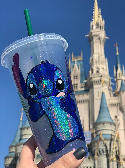 Color Changing Stitch Starbucks Tumbler