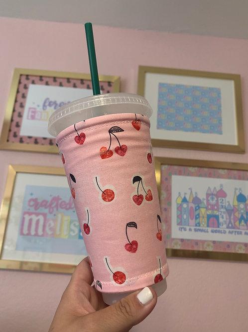 Cherry Starbucks Cup Sleeve