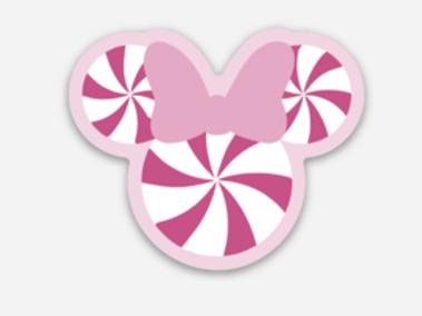 Minnie Peppermint Sticker
