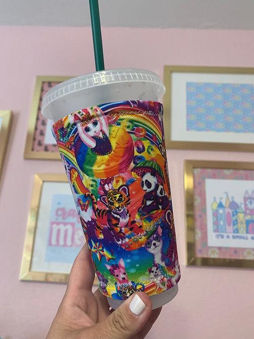 Lisa Frank Starbucks Cup Sleeve