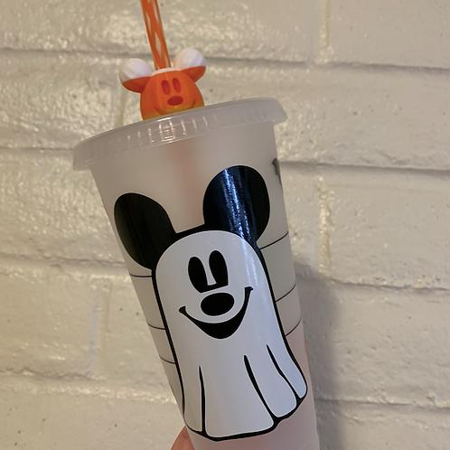 Mickey Ghost Starbucks Tumbler