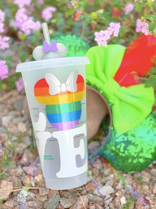 Pride LOVE Starbucks Tumbler