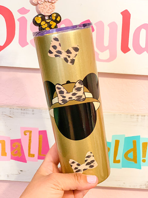Minnie Mouse Safari Stainless Steel Tumbler