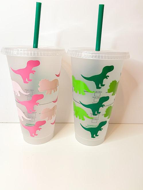 Dinosaur Starbucks Tumbler