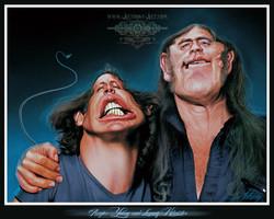 Angus Young & Lemmy Kilmister