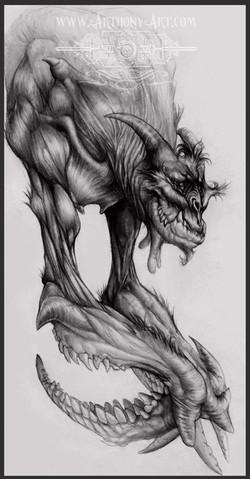 CROQUIS-créature