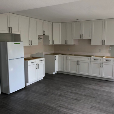 White Shaker Cabinets job in Surrey