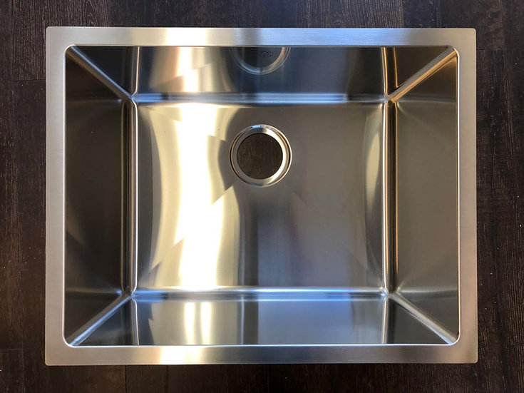 "H2318 - 23""x18""x10"" Stainless Steel Single Bowl Undermount Sink"
