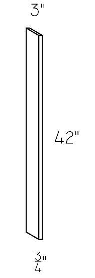 """Filler WF342 - 3""""x42""""x3/4"""""""