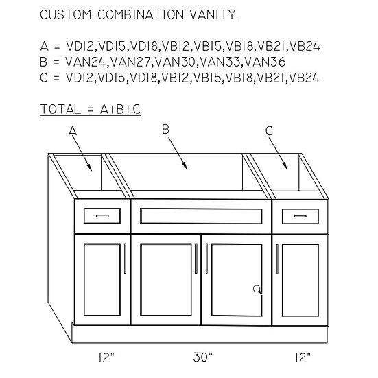 Cabinets (VD12+VAN30+VD12)