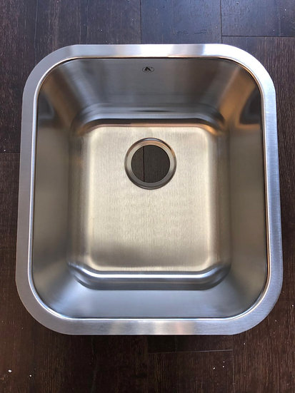 "U1816 - 16""x18""x9"" Stainless Steel Single Bowl Undermount Sink"