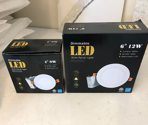 "Dimmable Recessed Light - Slim - 4"" - 9W LED (LSP4001)"