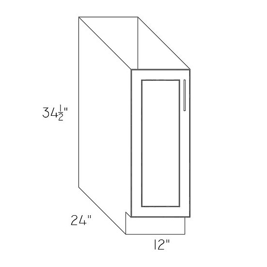 "FB12 - Full High Cabinets 12"" W"